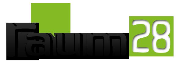 Logo raum28 online agentur